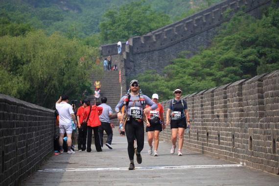 黄崖关马拉松赛在国内外资深跑马爱好者中最为推崇。