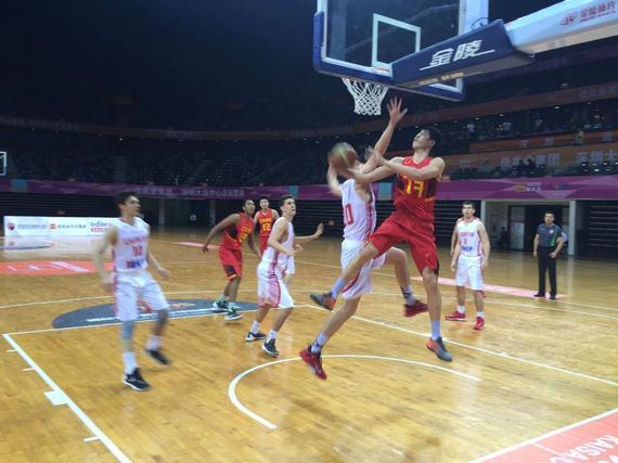 U18国青男篮胜克罗地亚球队