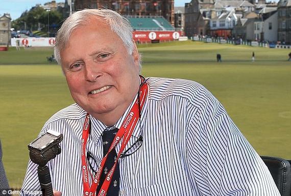 前BBC著名高尔夫球评彼得-埃利斯