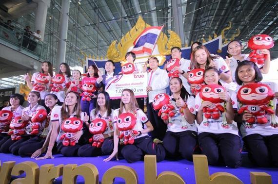 泰国女排回国