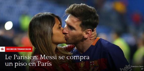 法国媒体曝梅西在巴黎买房