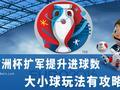 欧洲杯扩军:大小球玩法有攻略