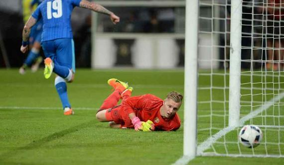 德国遭逆转1-3落败