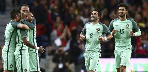 葡萄牙3-0完胜挪威