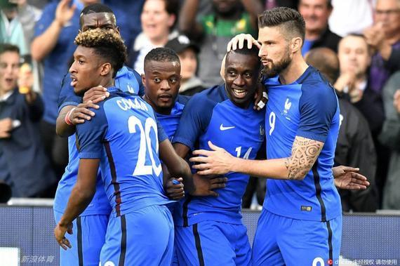 法国3-2险胜喀麦隆