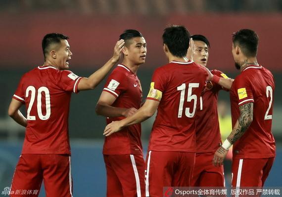 中国队取得胜利
