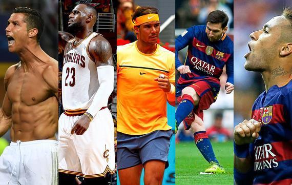 全球最受欢迎运动员排名