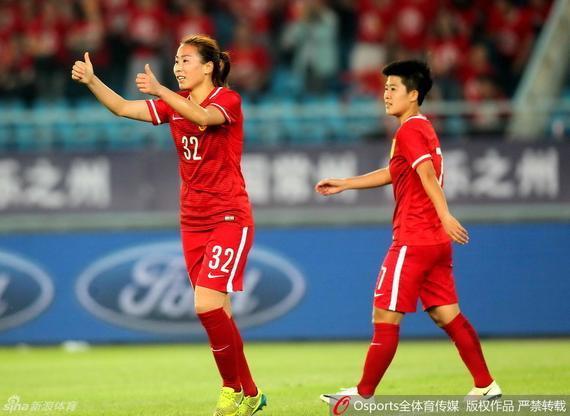中国女足3-0泰国女足