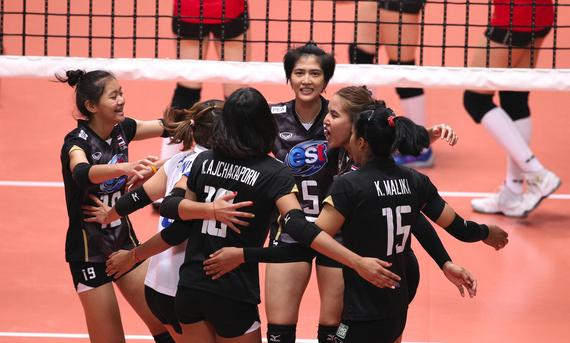 泰国女排杀入决赛