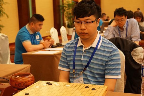 中国棋手白宝祥出战世界业余围棋锦标赛