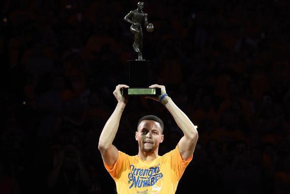 库里真的只能拿通例赛MVP?