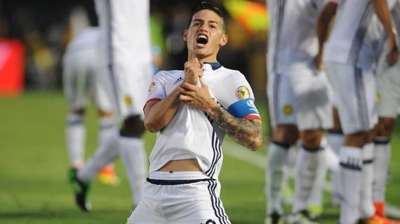 一球一助攻的哈梅斯是哥伦比亚晋级的最大功臣