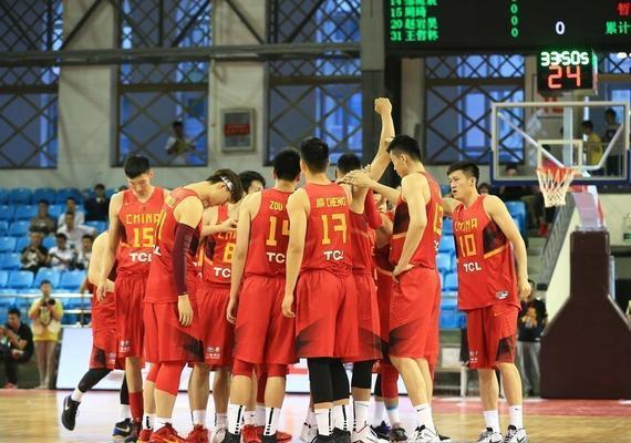中国男篮主力阵容已渐渐清晰