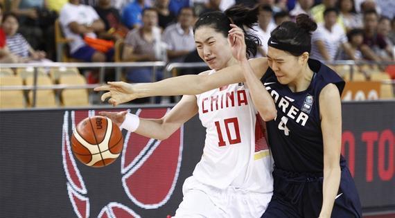 中国女篮即将开启落选赛征程