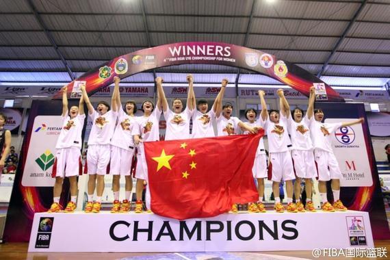 中国国青女篮即将出战世青赛