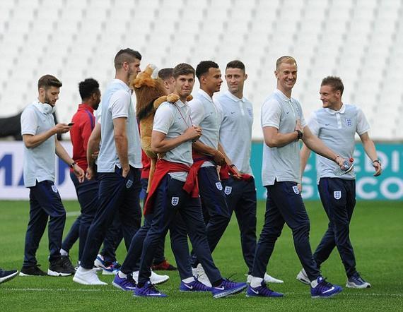 英格兰即将迎来欧洲杯首秀