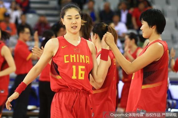 中国女篮在落选赛前最后的热身赛中遭遇三连败