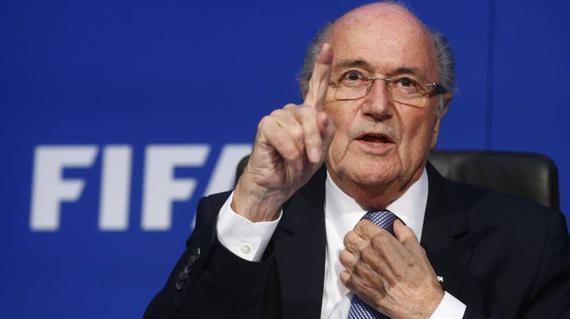 布拉特如今已不是FIFA掌门人