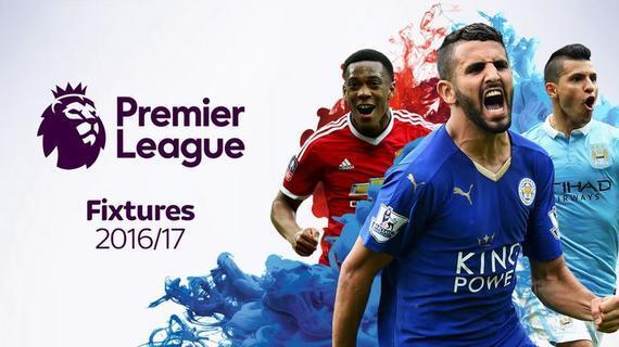 英超公布新赛季赛程