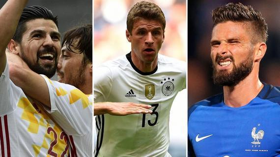西班牙、德国和法国首轮都获胜