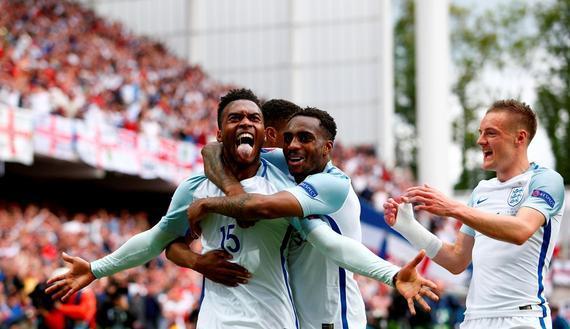 英格兰2比1险胜威尔士