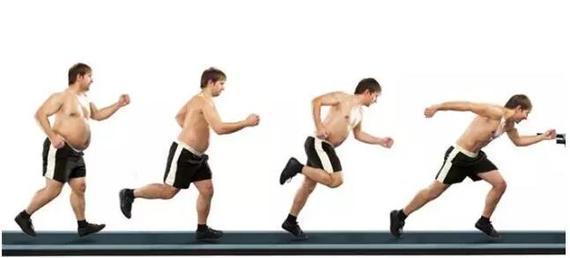 变瘦图片-为什么坚持跑步没变瘦 跑量不够 摄取高热量多