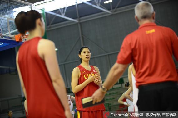 中国女篮赛前备战