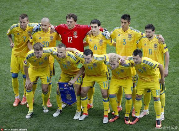 乌克兰成为第一付出局球队