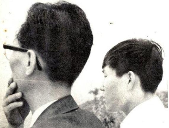 年青时期的曹薰铉与赵南哲