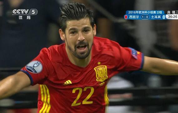 西班牙3分钟连入两球