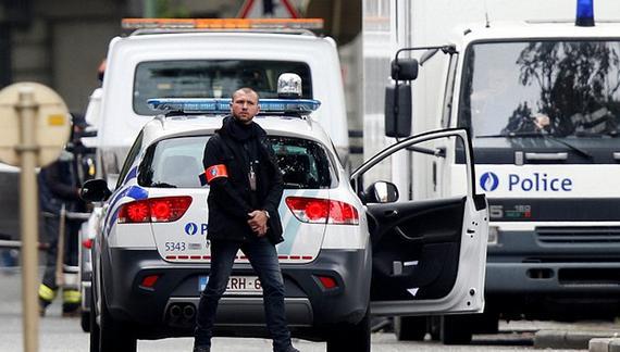 布鲁塞尔当地的警方