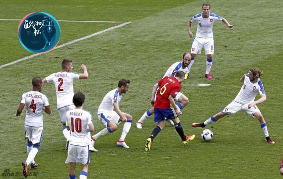伊涅斯塔本届欧洲杯依然表现出色