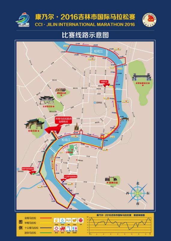 26日吉林市举行马拉松 交通路段将分时分段封闭