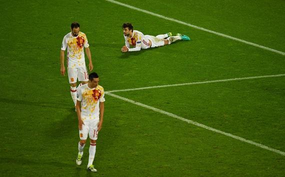 欧洲杯-拉莫斯丢点 西班牙87分钟遭逆转绝杀