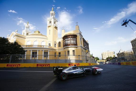 F1巴库大街赛道
