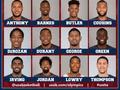 美国男篮官宣12人奥运大名单