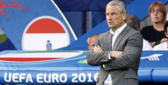 匈牙利主帅施托克对于球队在欧洲杯的表现非常满意
