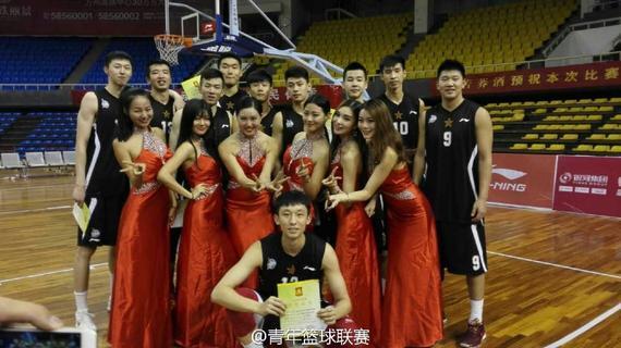 八一青年队夺得冠军