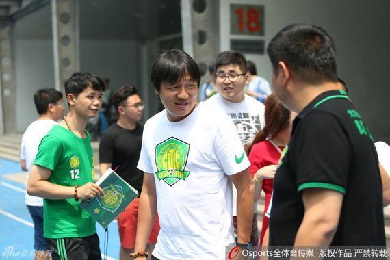 谢峰在国安俱乐部