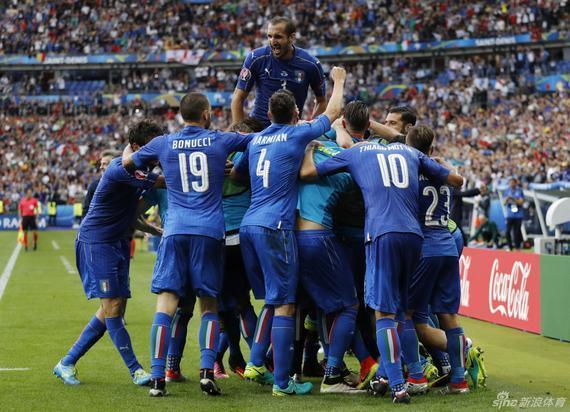意大利激情庆祝