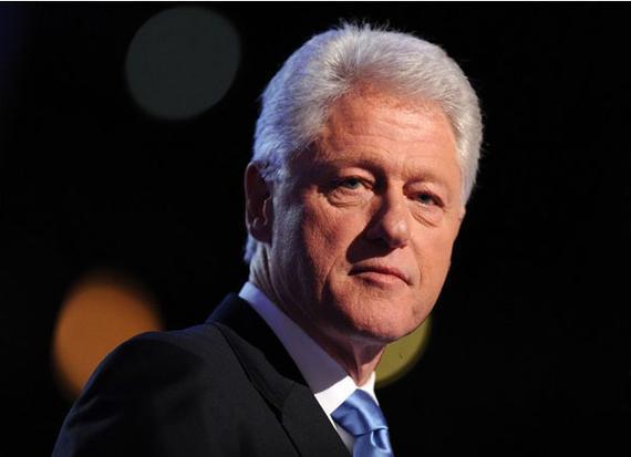 美国前总统比尔-克林顿
