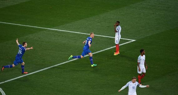 英格兰1-2爆冷负冰岛出局