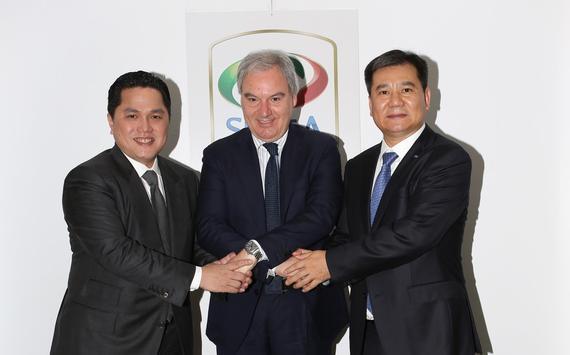 苏宁集团董事长张近东将正式宣布入主国米