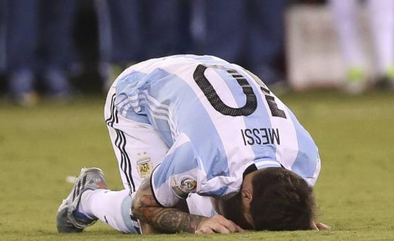 梅西在美洲杯赛后