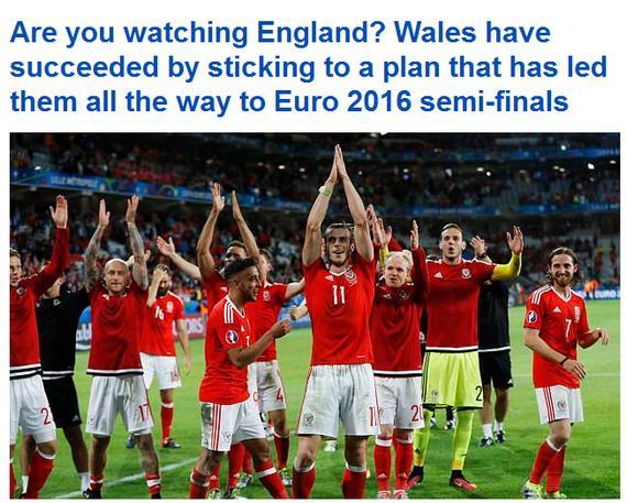 英媒又在借威尔士讽刺英格兰