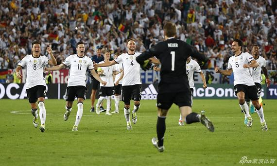 德国点球大战惊险晋级
