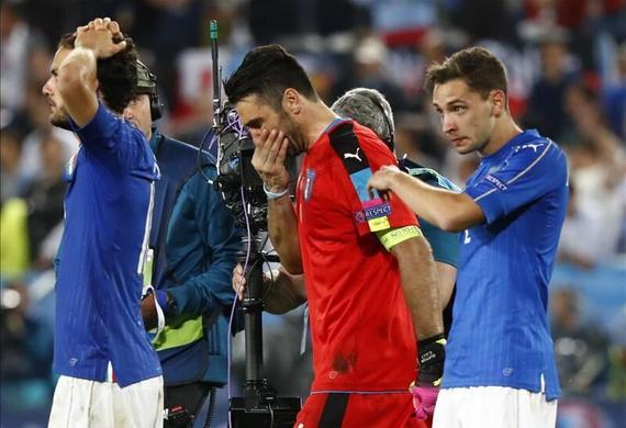 布冯告别欧洲杯