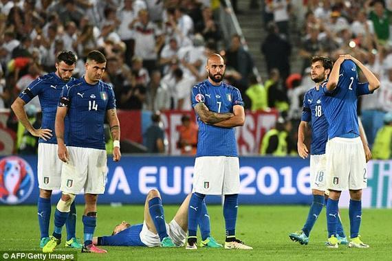 意大利在点球大战中落败,遗憾出局