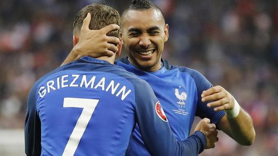 名宿:法国踢德国要攻上去