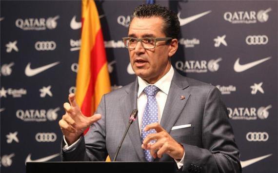 巴萨俱乐部发言人 Josep Vives